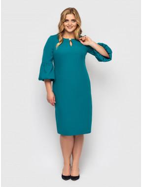 Бірюзова жіночна сукня Паріс
