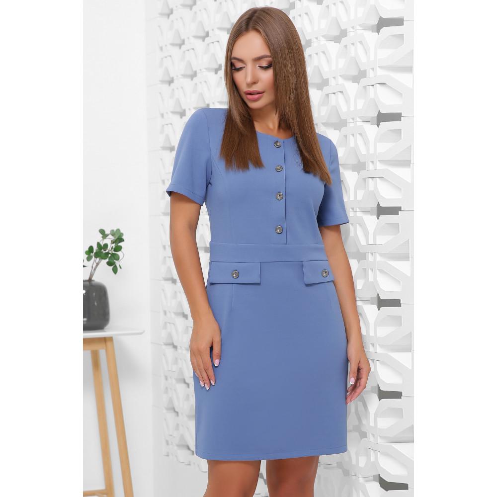 Модное платье в офисном стиле фото 1