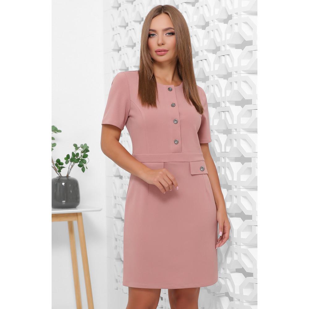 Красивое платье-мини в офисном стиле фото 1