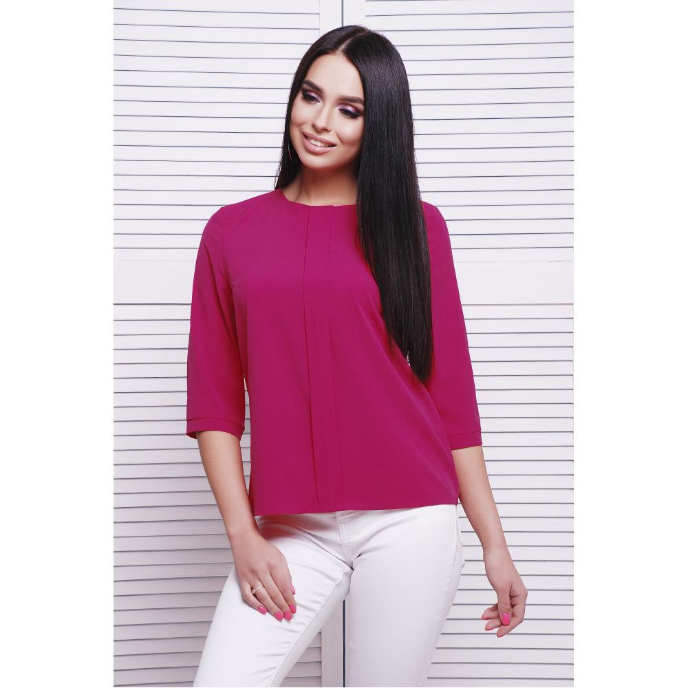 Малиновая блуза Аманда фото 1