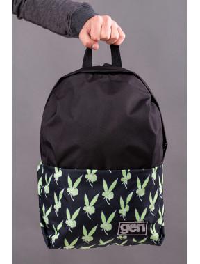 Рюкзак в яркий принт с карманом для ноутбука Maks