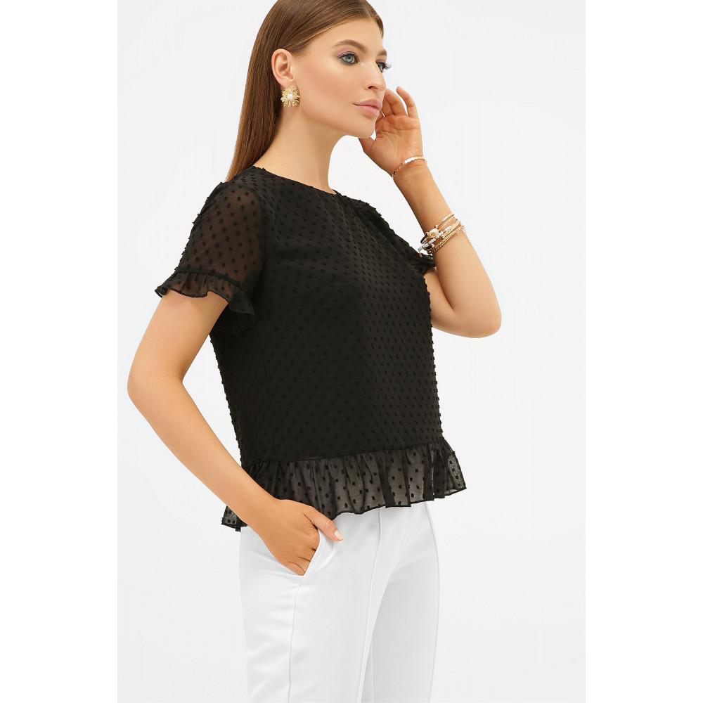 Свободная женская блузка из шифона Диас фото 2