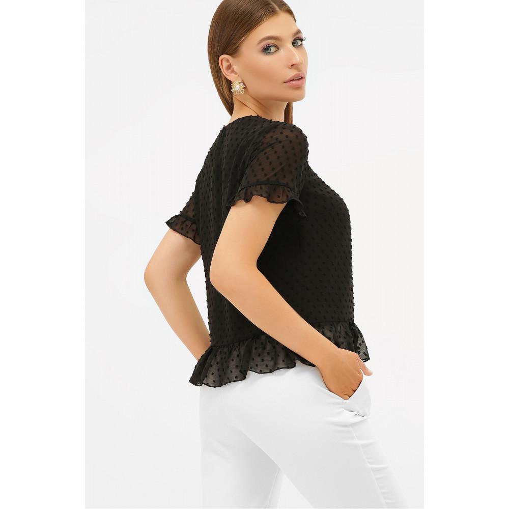 Свободная женская блузка из шифона Диас фото 3