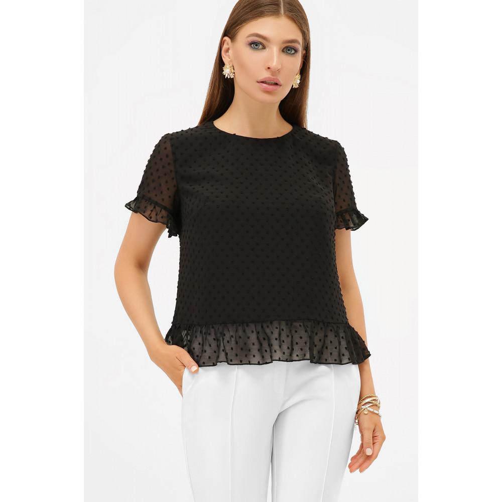Свободная женская блузка из шифона Диас фото 1
