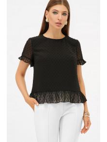 Свободная женская блузка из шифона Диас