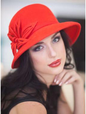 Фетровий жіночий капелюх 223-1