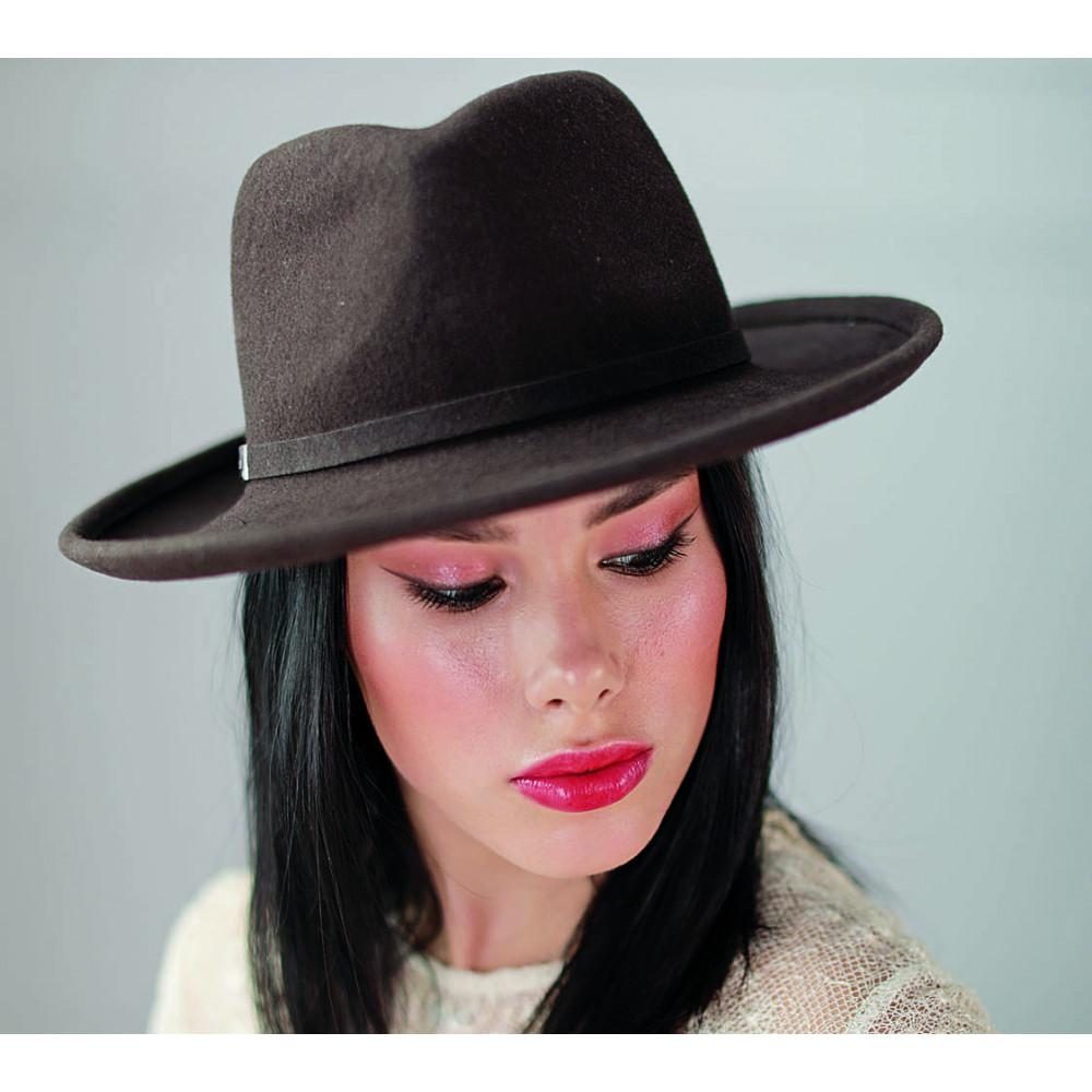Женская шляпа-федора 336-1 фото 1