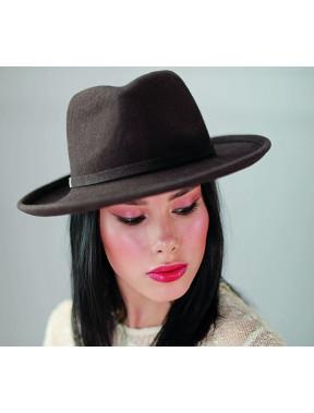 Жіночий капелюх-федора 336-1