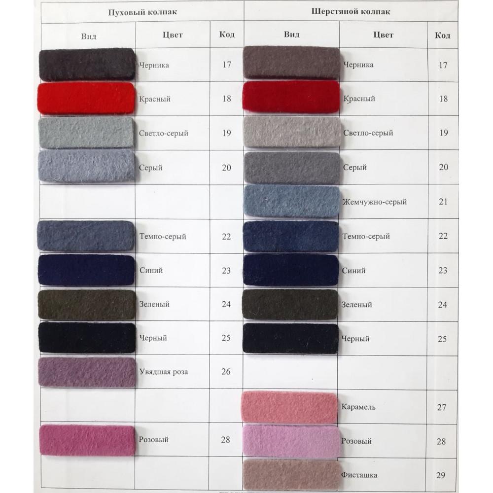 Асимметричная шляпа-таблетка 335-4 фото 2
