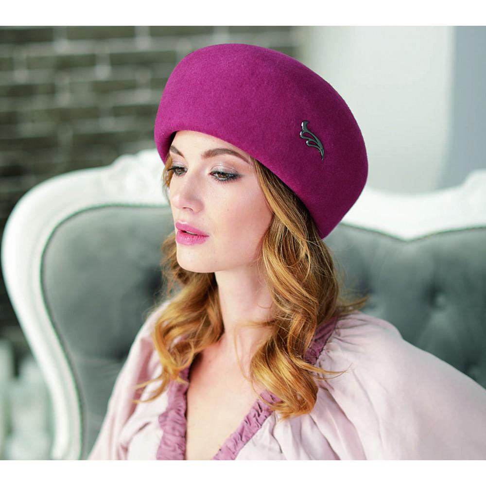 Лаконічний жіночий капелюх 319-2 фото 1