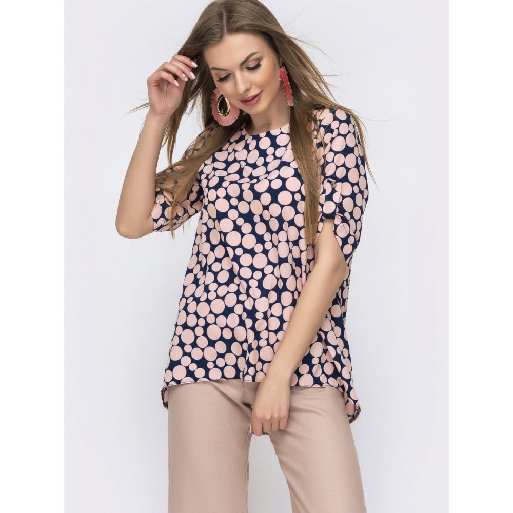 Милая блузка с удлиненной спинкой Сандра фото 1