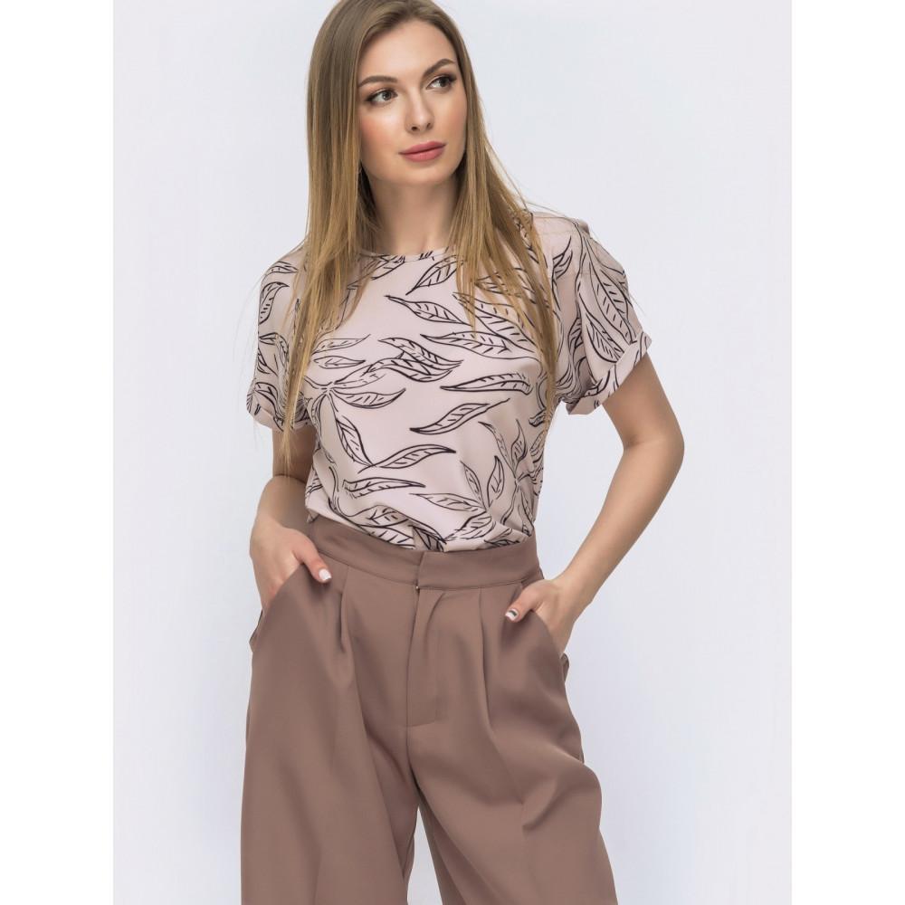 Любимая блузка с коротким рукавом Круиз фото 1