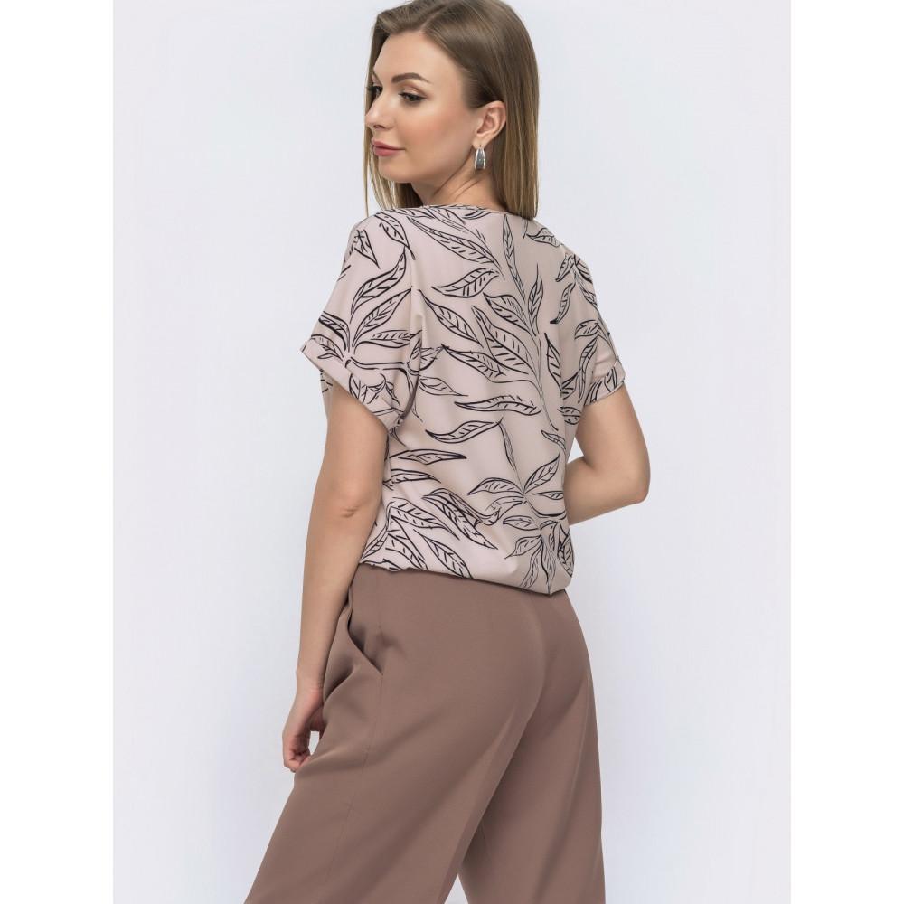 Любимая блузка с коротким рукавом Круиз фото 2