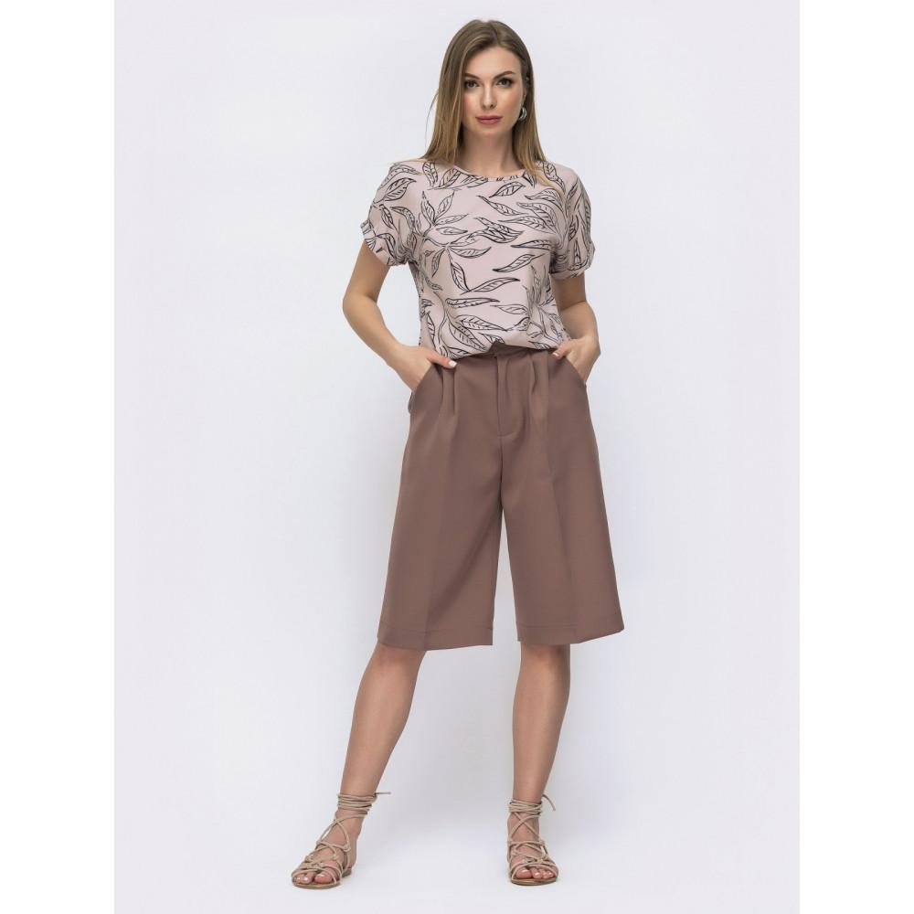 Любимая блузка с коротким рукавом Круиз фото 3