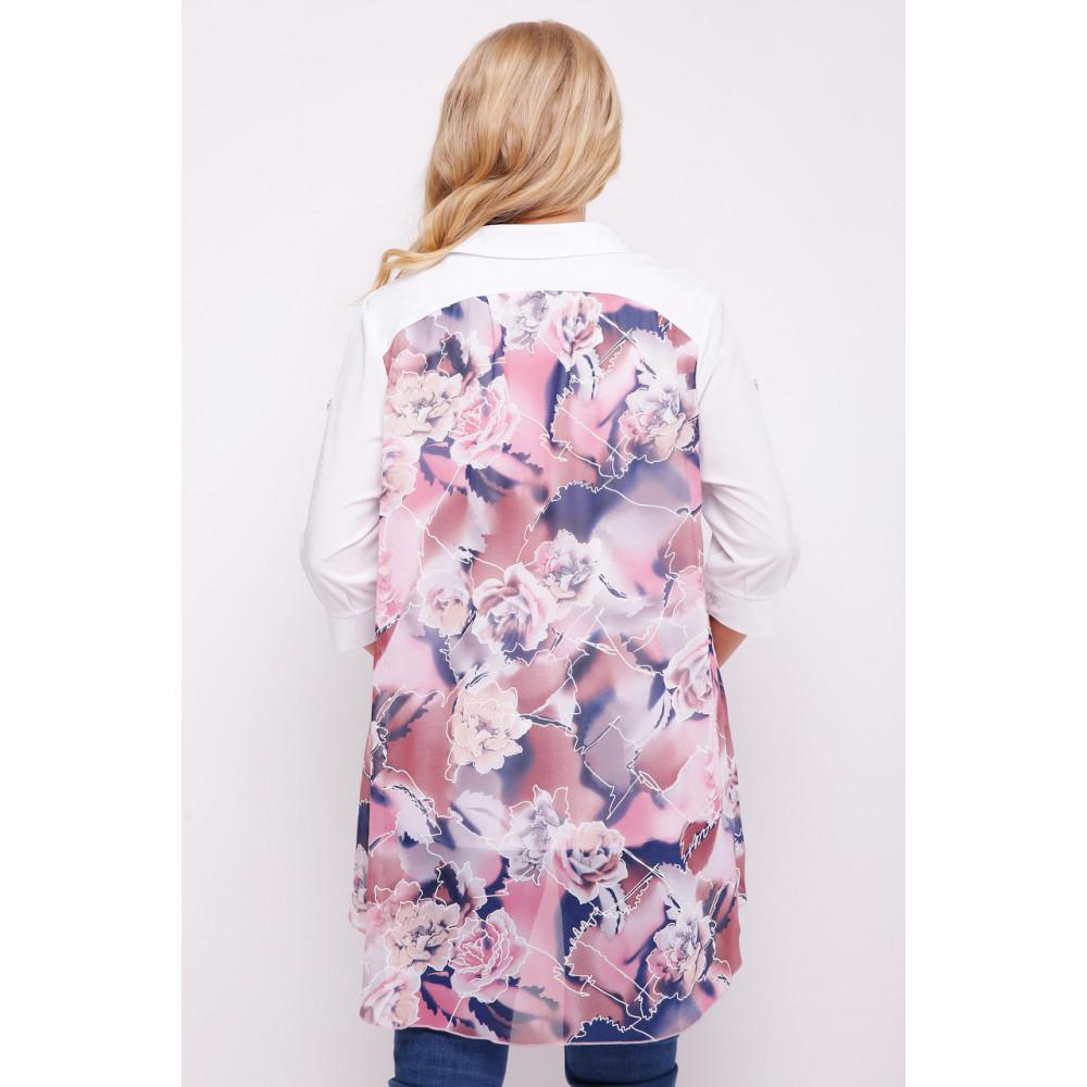 Двойной цветочный блузон Любава фото 3