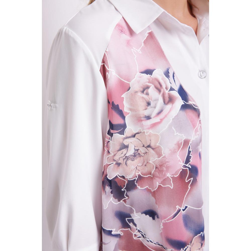 Двойной цветочный блузон Любава фото 4