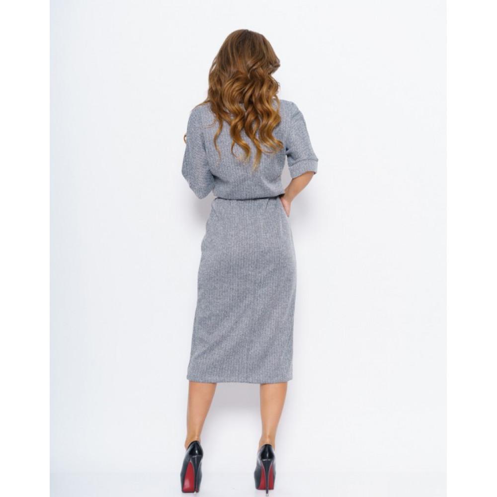Лаконичное платье с принтом Хлоя фото 2