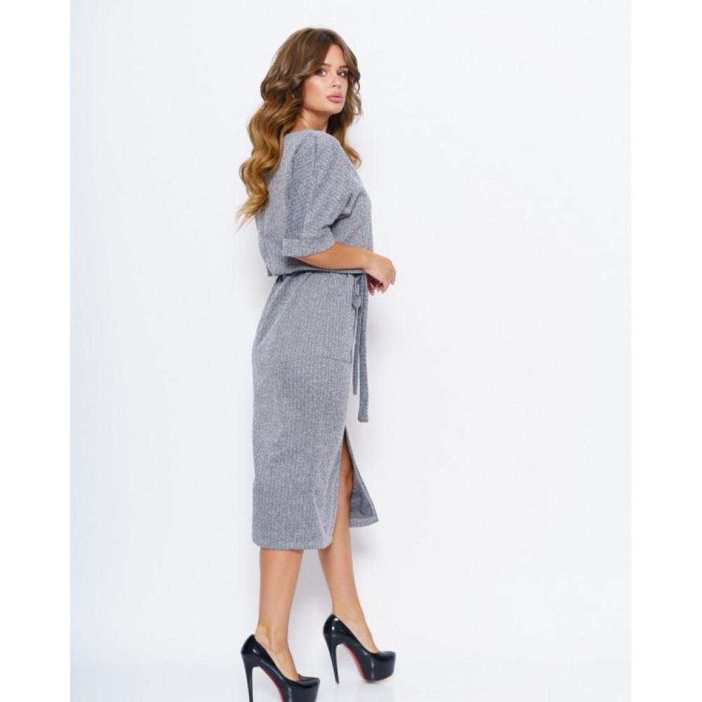 Лаконичное платье с принтом Хлоя фото 3