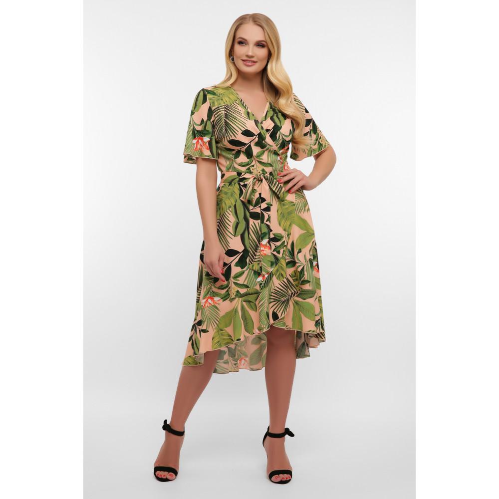 Легкое летнее платье на запАх Алесия фото 1