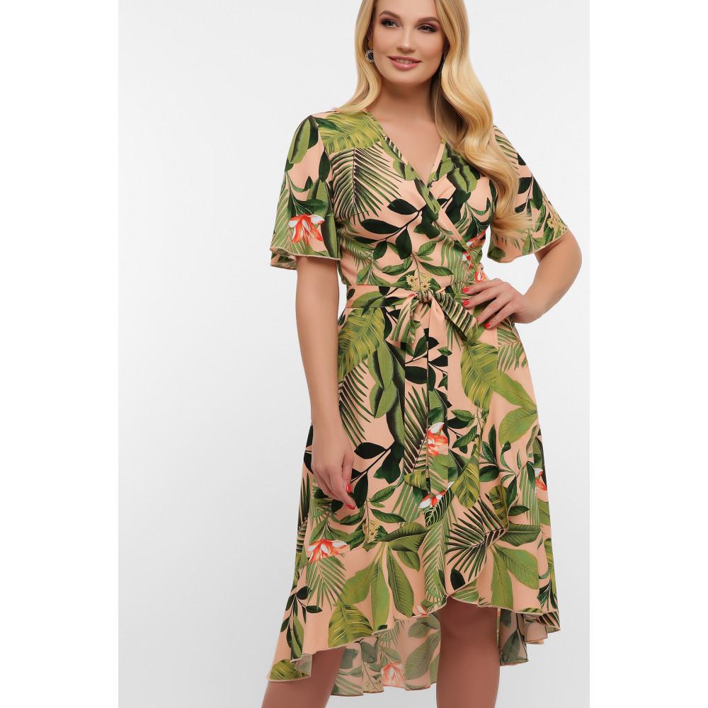 Легкое летнее платье на запАх Алесия фото 2