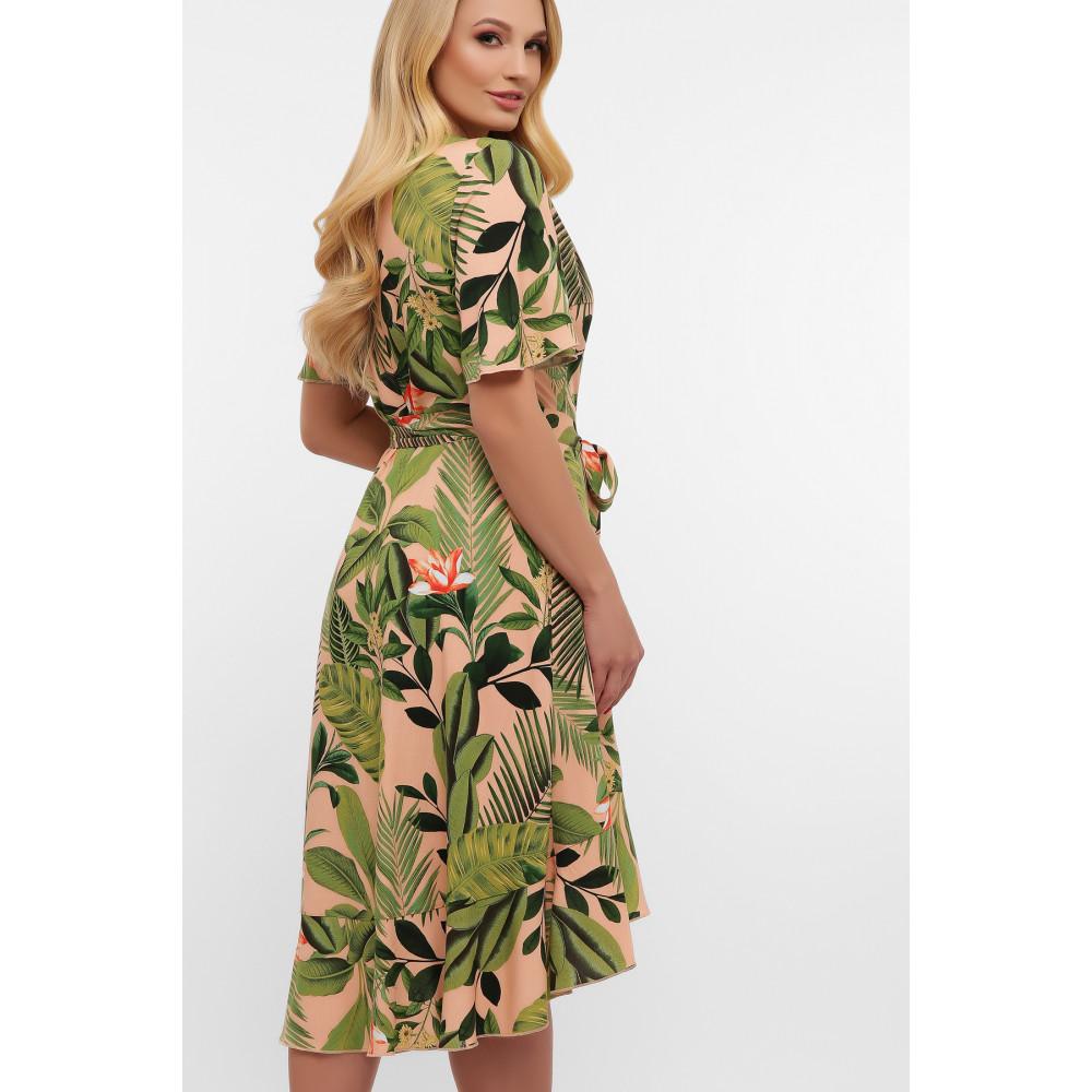 Легкое летнее платье на запАх Алесия фото 3