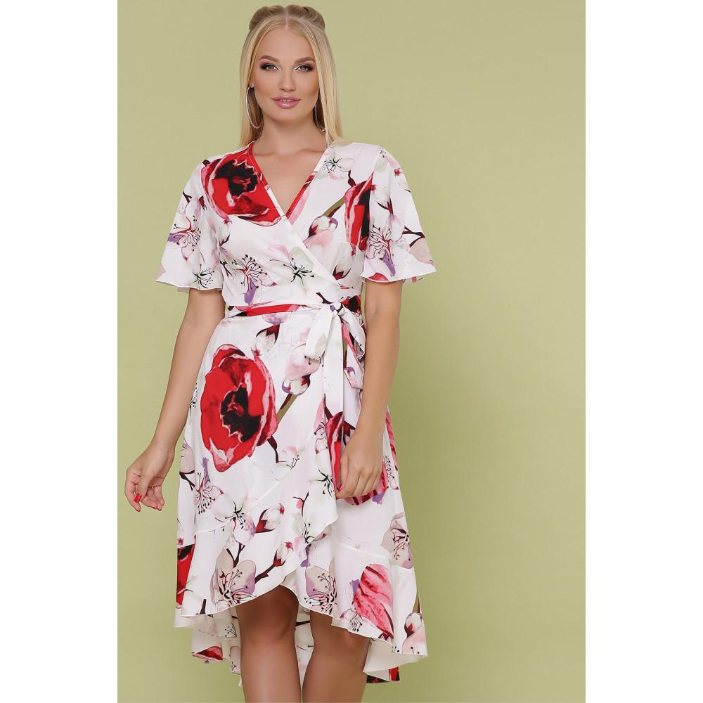 Красивое платье с яркими цветами Алесия фото 1