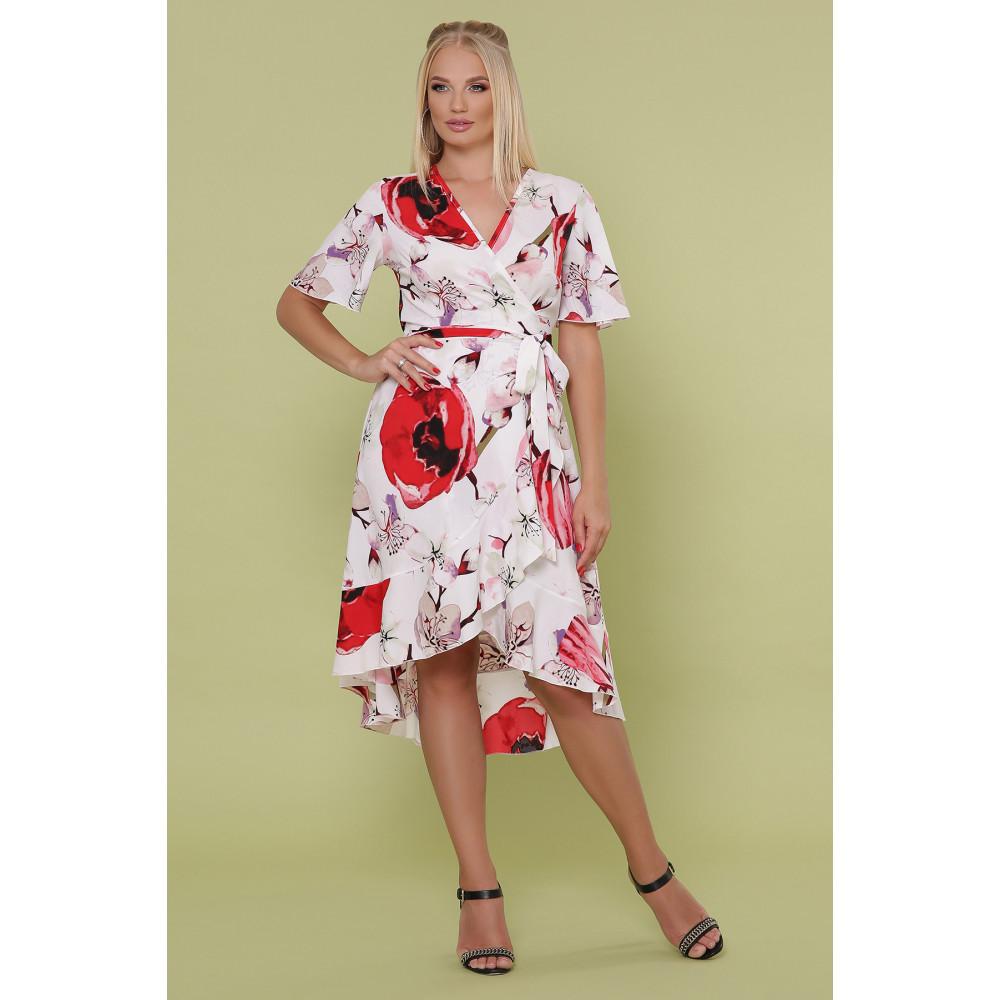 Красивое платье с яркими цветами Алесия фото 2
