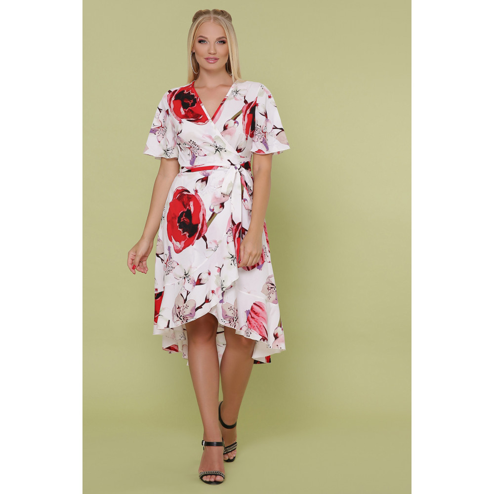 Красивое платье с яркими цветами Алесия фото 3