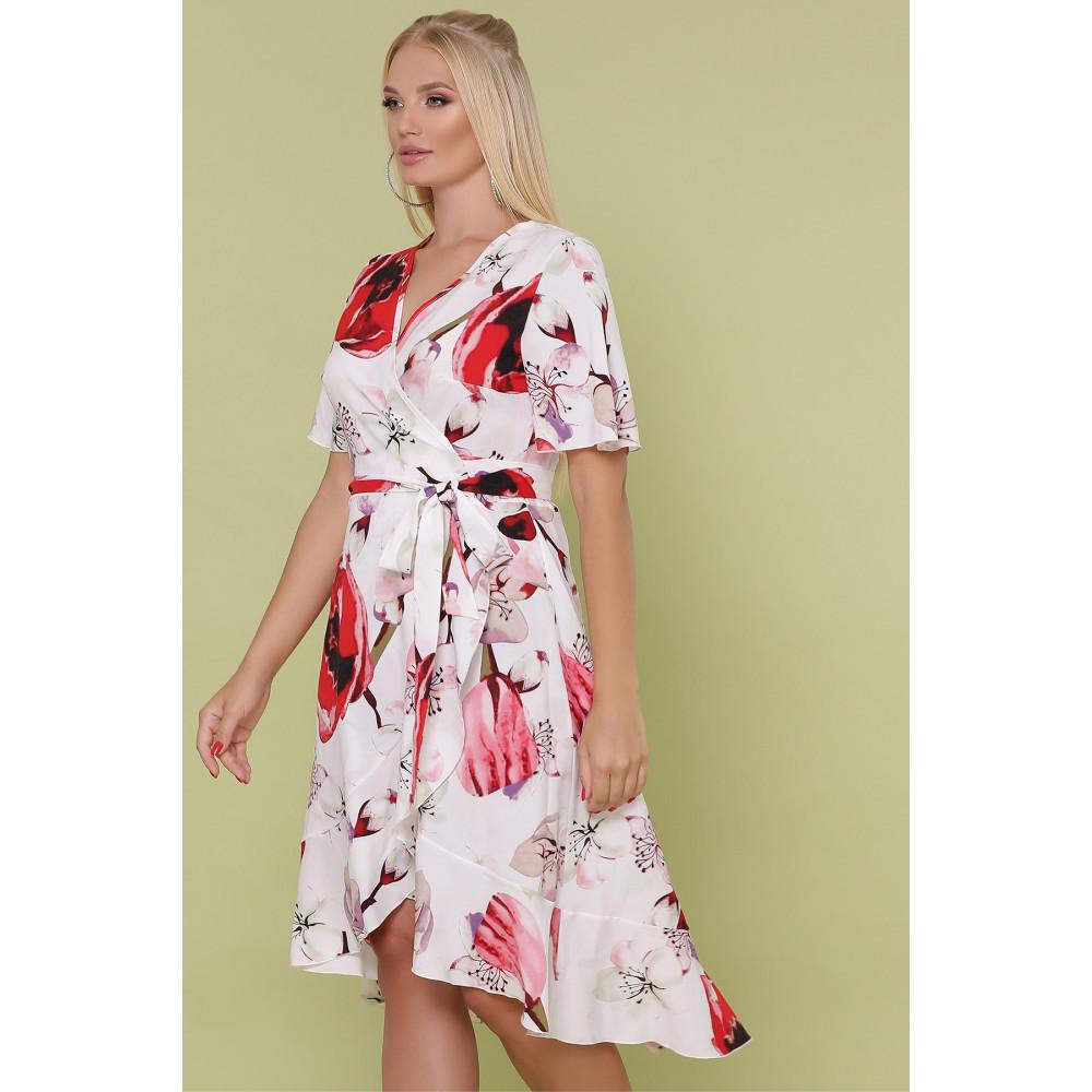 Красивое платье с яркими цветами Алесия фото 4