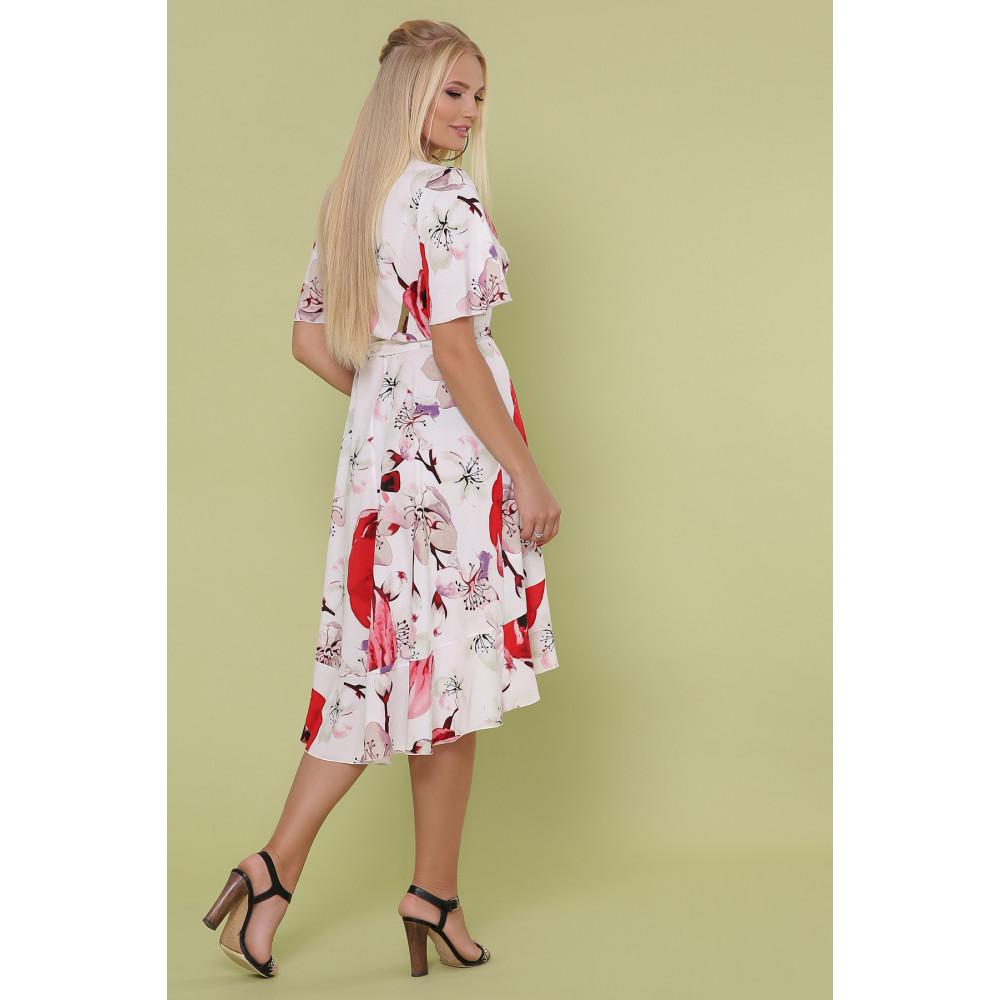 Красивое платье с яркими цветами Алесия фото 5