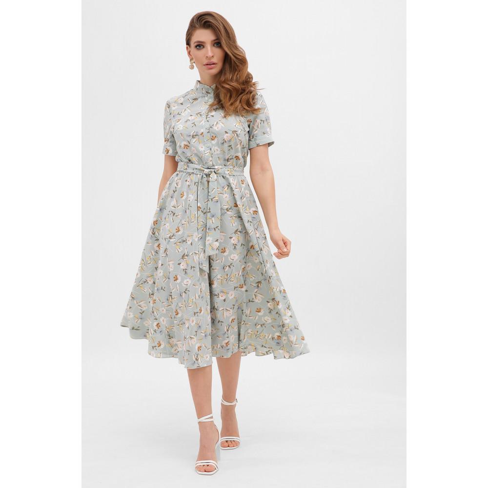 Невероятно нежное платье с цветочным принтом Изольда фото 1