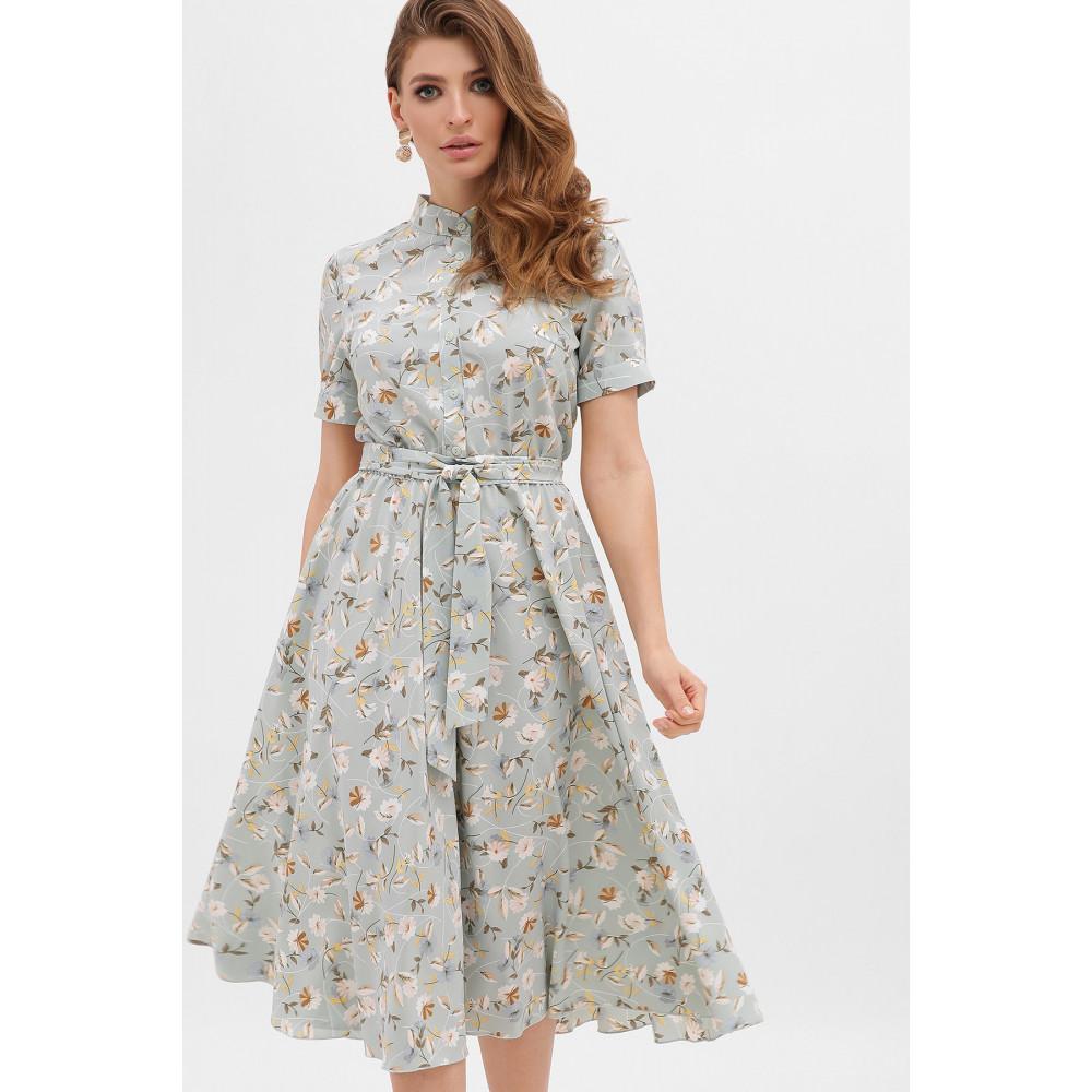 Невероятно нежное платье с цветочным принтом Изольда фото 2