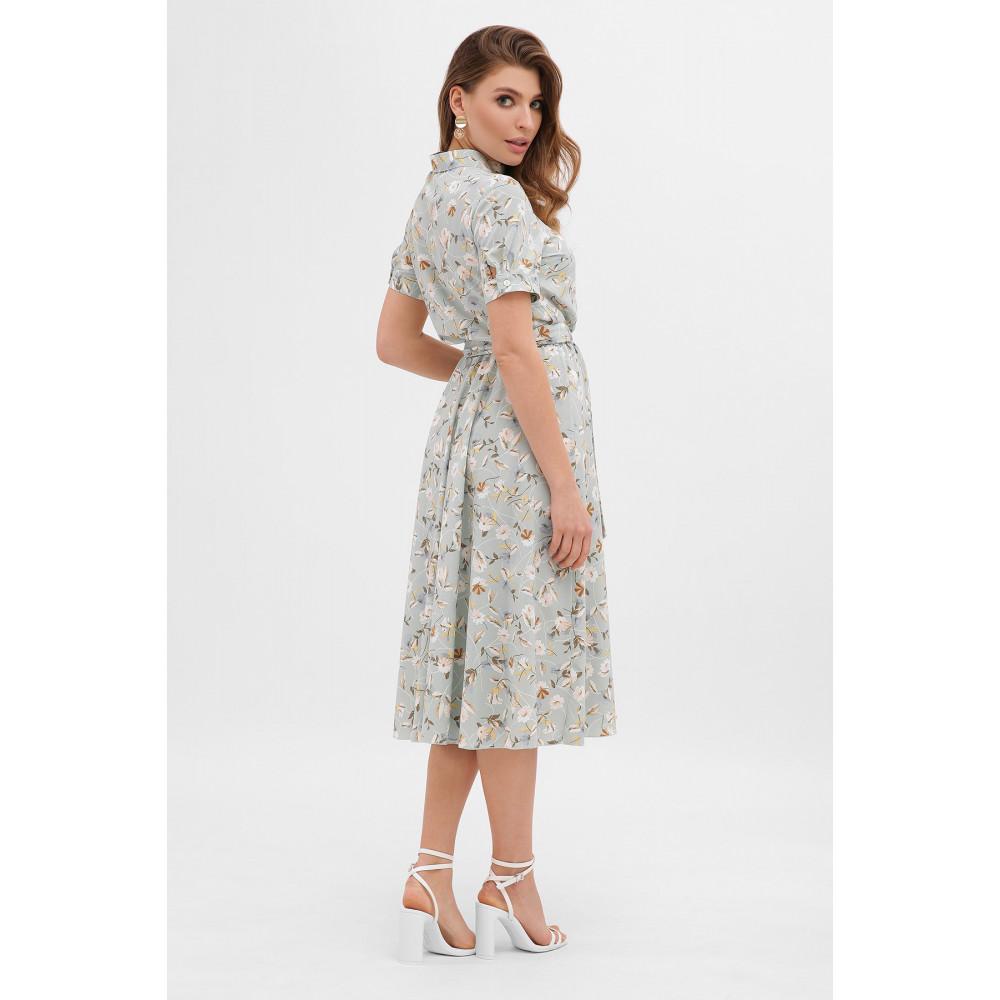 Невероятно нежное платье с цветочным принтом Изольда фото 3