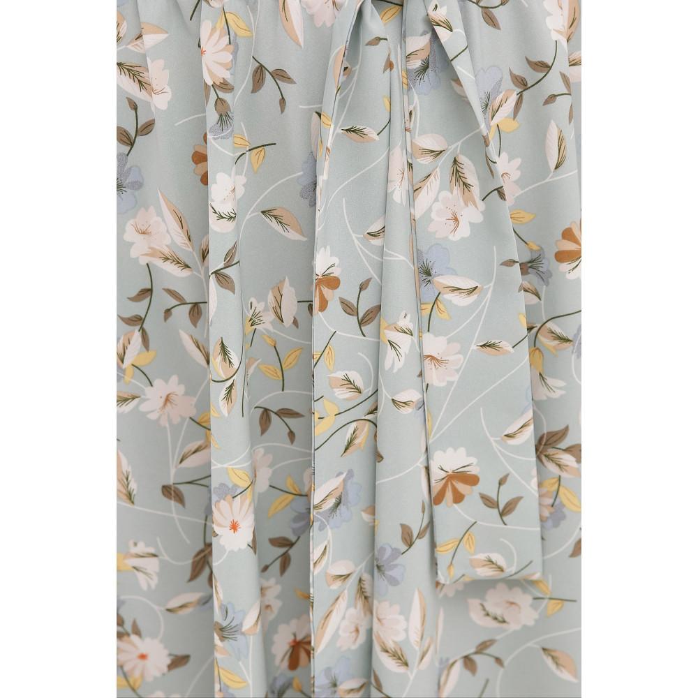 Невероятно нежное платье с цветочным принтом Изольда фото 4