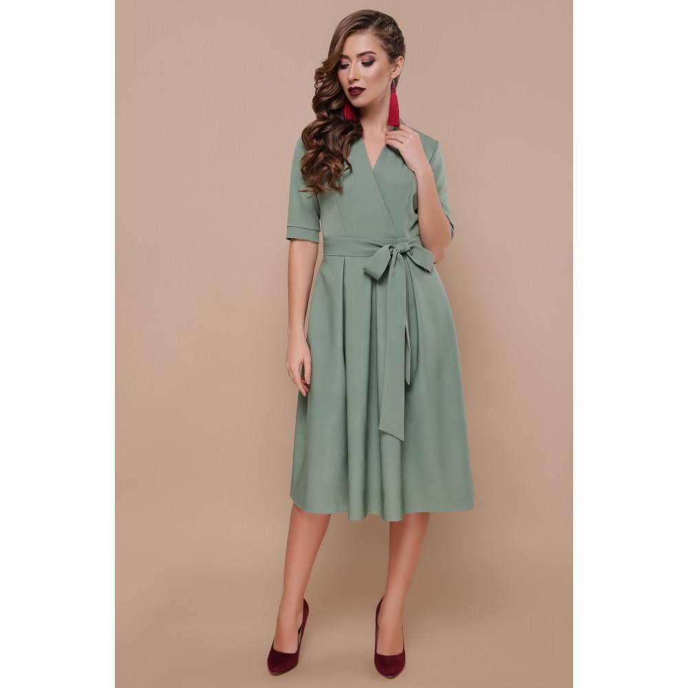Интересное платье-миди Ангелина фото 1