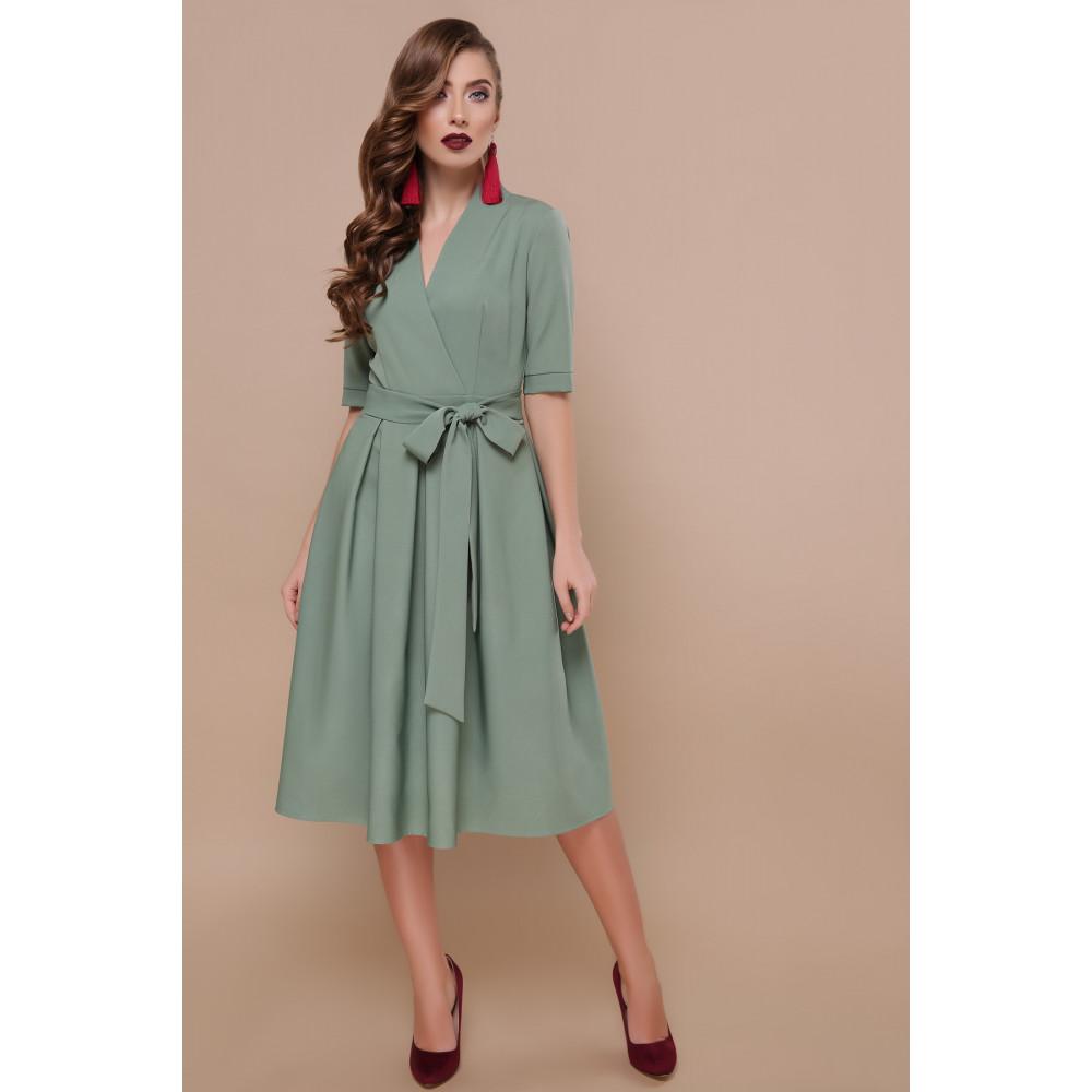 Интересное платье-миди Ангелина фото 2