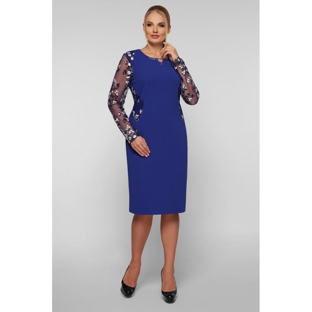 Женственное платье с вышивкой Адель фото 1