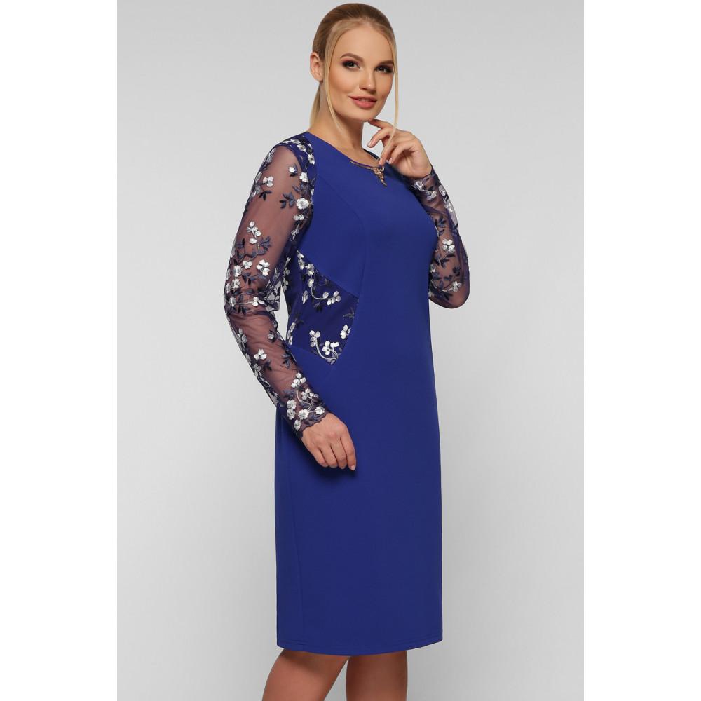 Женственное платье с вышивкой Адель фото 2