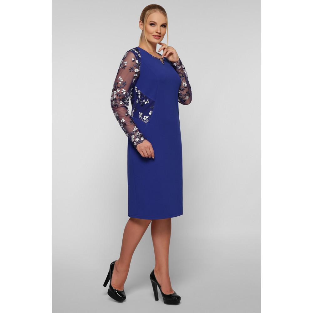 Женственное платье с вышивкой Адель фото 5