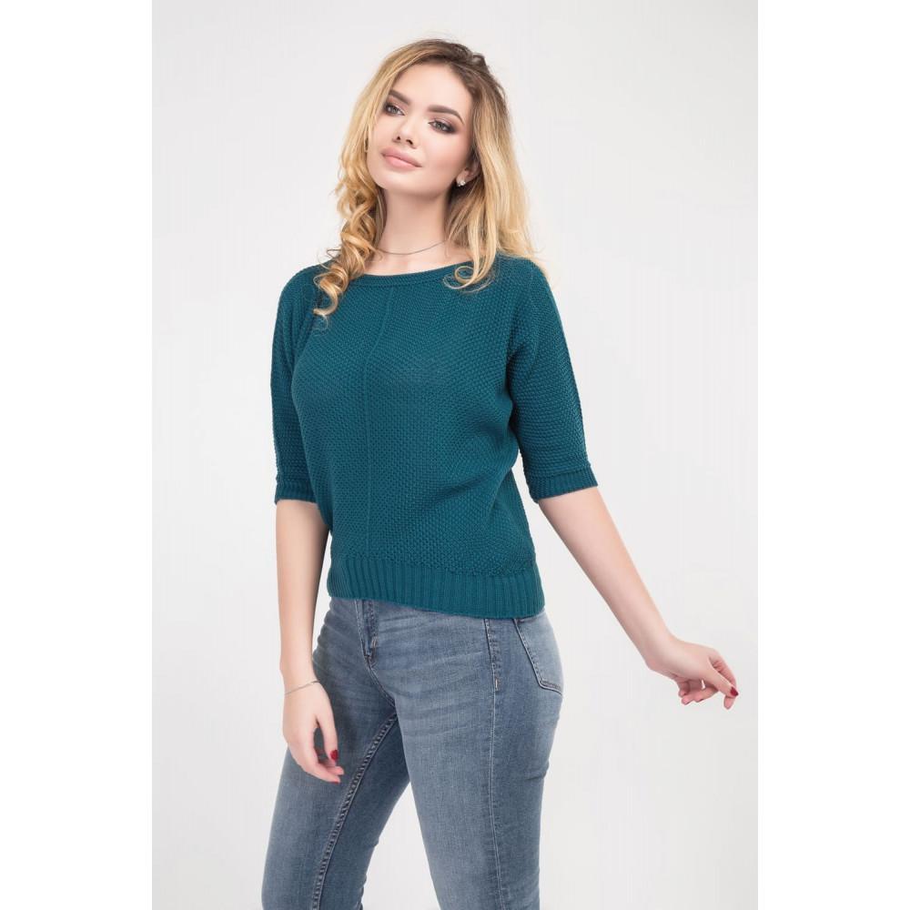 Вязаный свободный свитер Карина фото 1