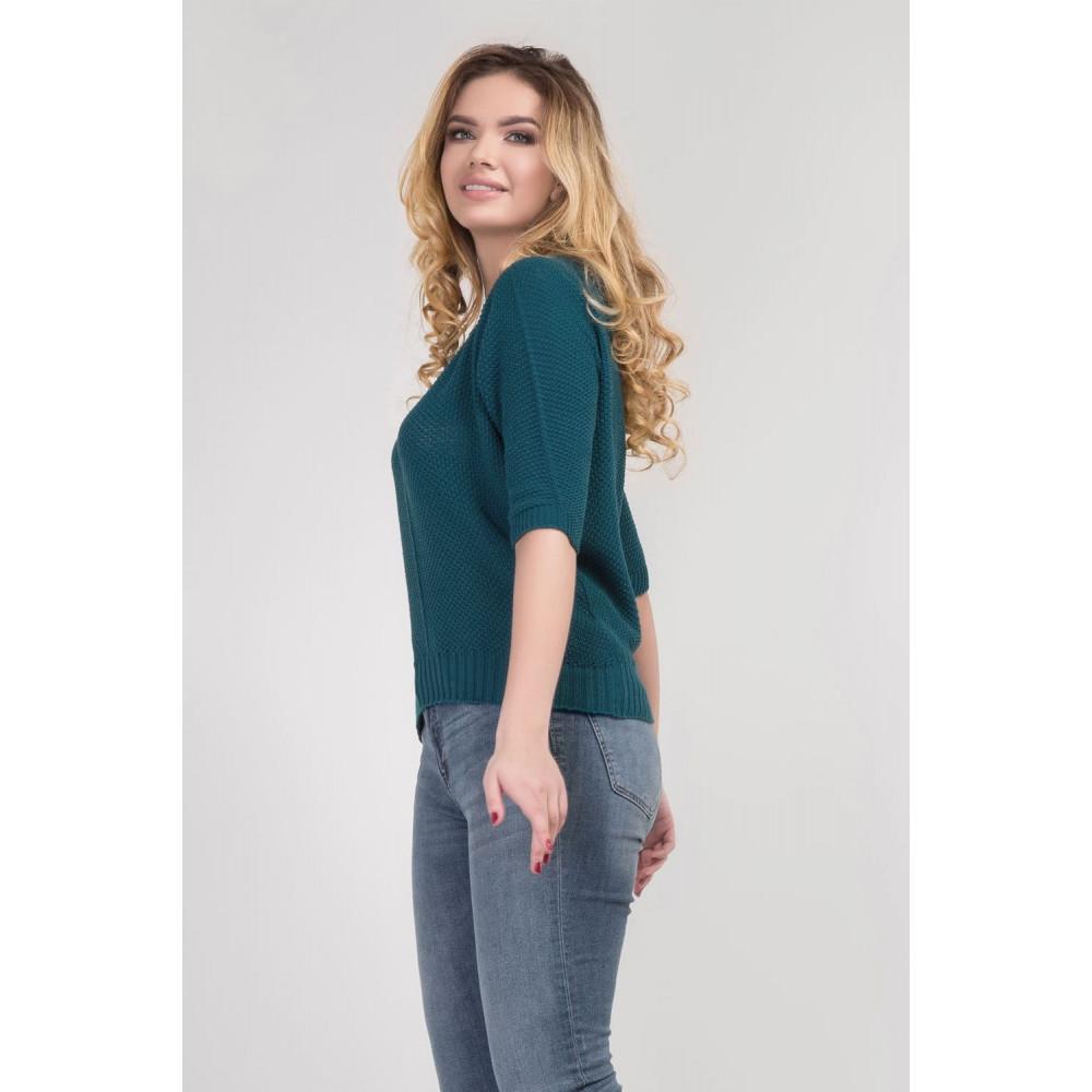 Вязаный свободный свитер Карина фото 2