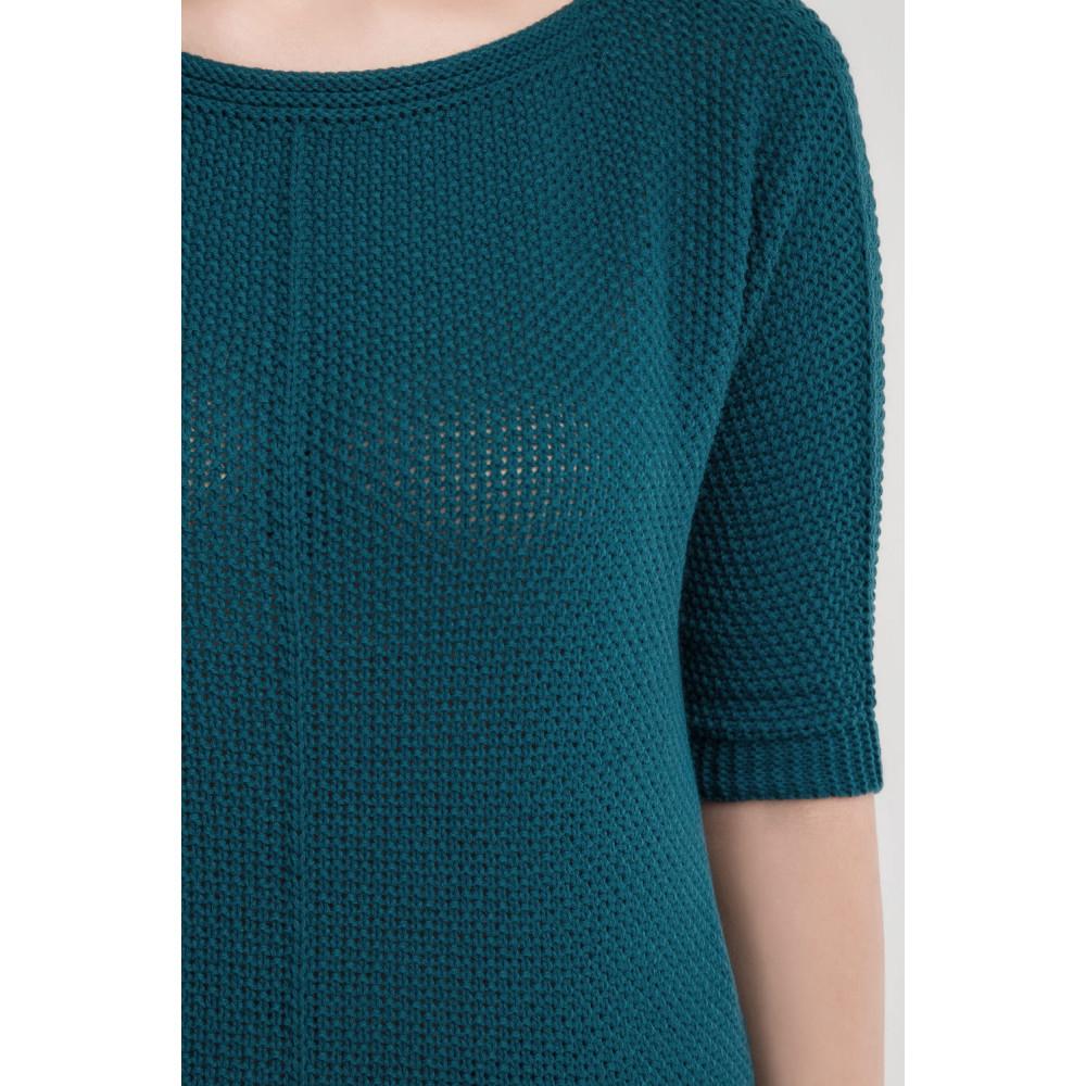 Вязаный свободный свитер Карина фото 3