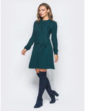 Необычное вязаное платье Рене