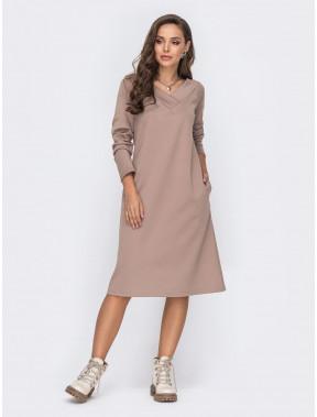 Удобное повседневное платье Рита