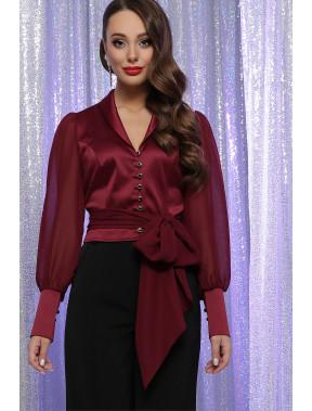 Шикарна бордова блуза Авріл