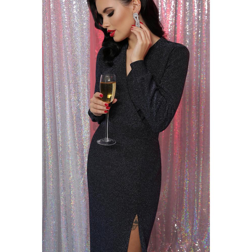 Длинное вечернее платье из люрекса Цецилия фото 1