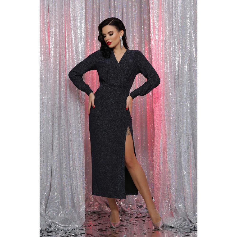 Длинное вечернее платье из люрекса Цецилия фото 2
