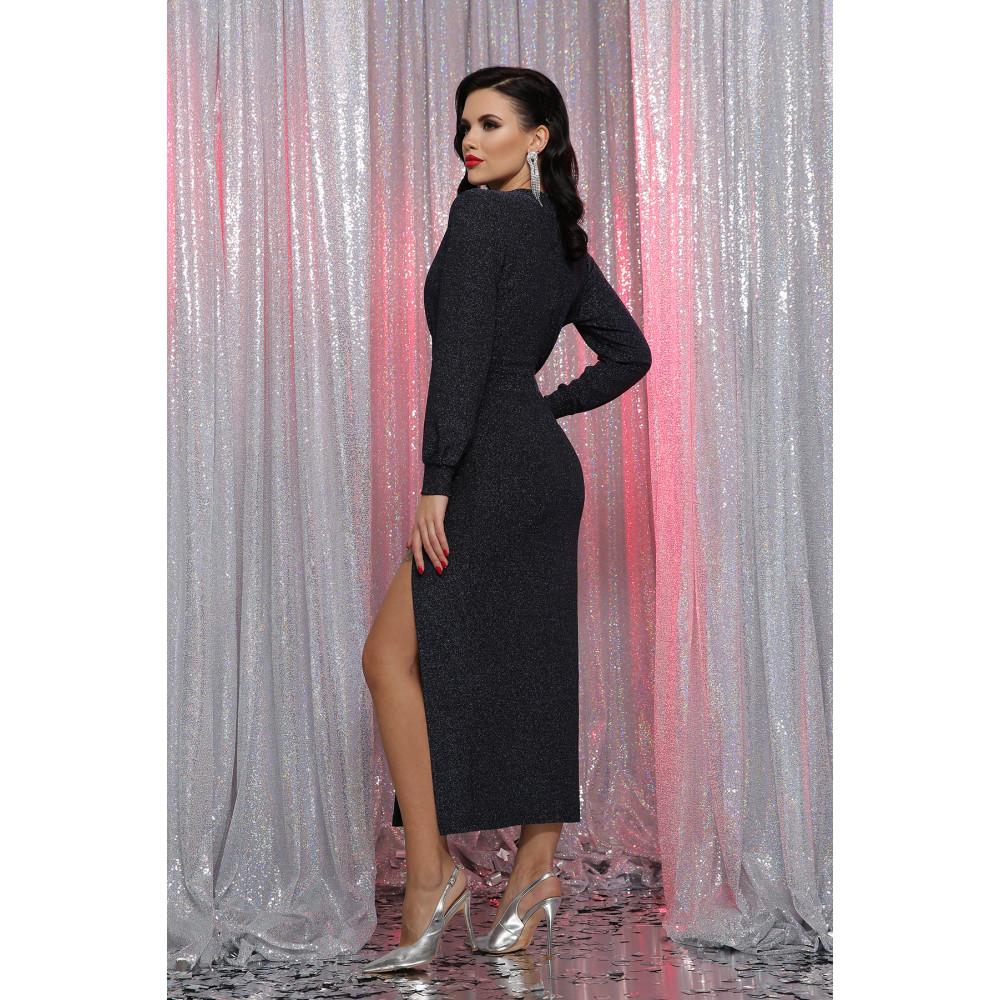 Длинное вечернее платье из люрекса Цецилия фото 3