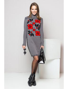 Тепла сукня-вишиванка Дарина