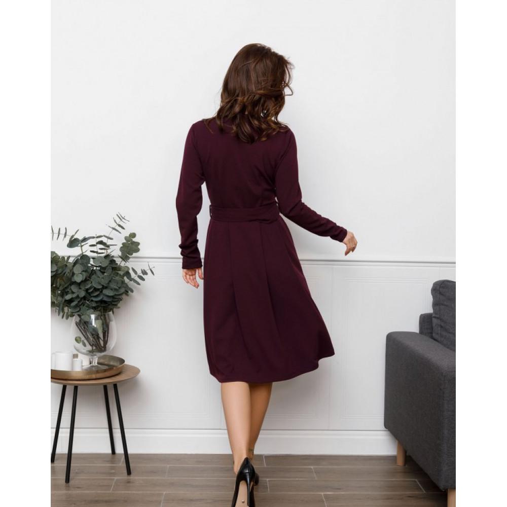Женственное офисное платье-клеш Долорес фото 3